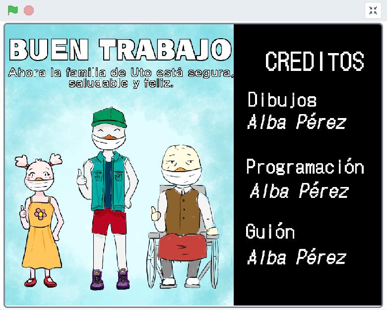 Proyecto de Scratch de Alba Pérez