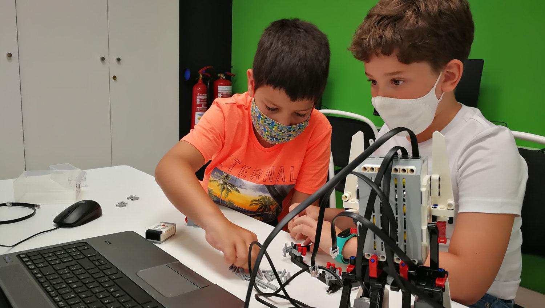 Curso de robótica con Lego Mindstorms